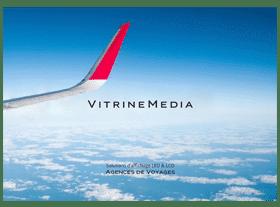 brochure retail agence voyage 2017 vitrinemedia vitrine lumineuse miniature