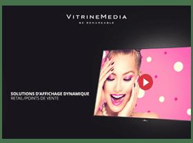 catalogue vitrinemedia digital services solution affichage dynamique retail