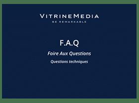 faq foire au question vitrinemedia miniature
