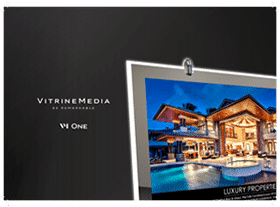 minibook vm one vitrinemedia vitrine lumineuse miniature