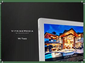 minibook vm two vitrinemedia vitrine lumineuse miniature