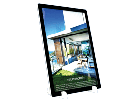 led window display vm dock essential