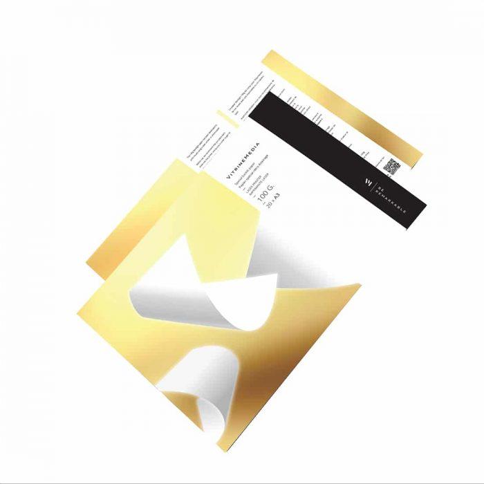 Backlight 100g papier special pour afficheur led