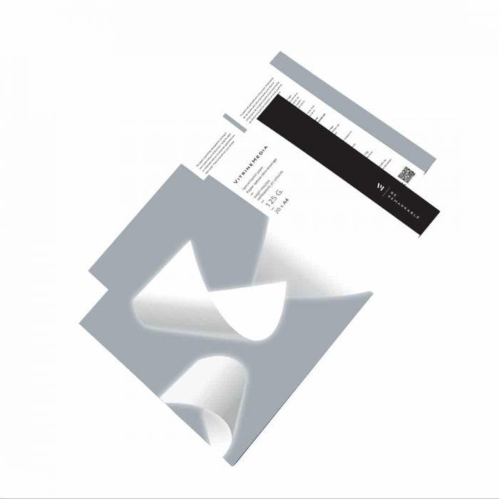 backlight 125g papier rétro éclairé