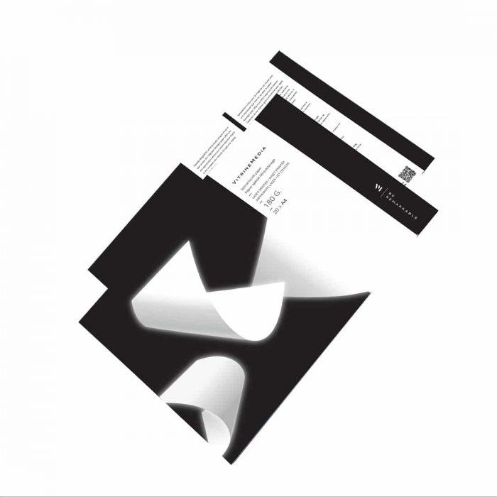 Backlight 180g papier special pour afficheur lumineux