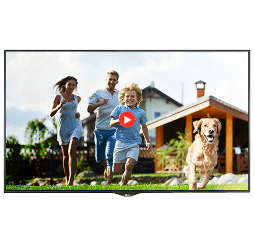 vm large formats écran dynamique vitrine page produit