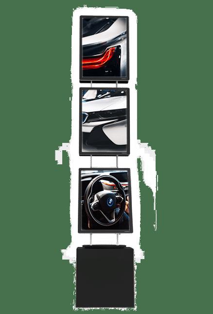 vm box premium panneau affiche lumineux led page produit