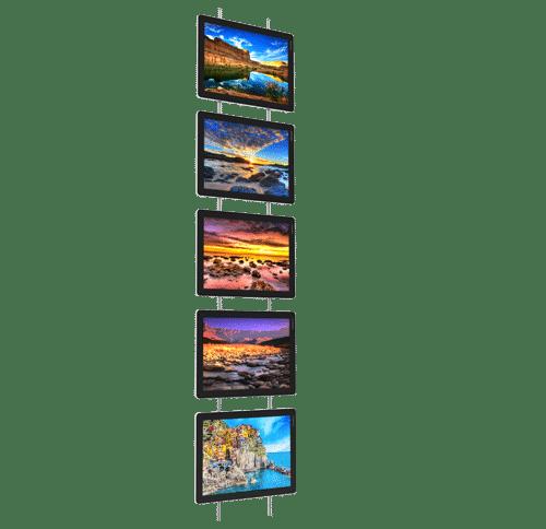 vm wall porte affiche lumineux led interieur page produit