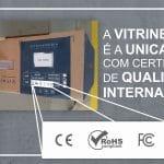 Painéis da VitrineMedia são os únicos com certificações internacionais