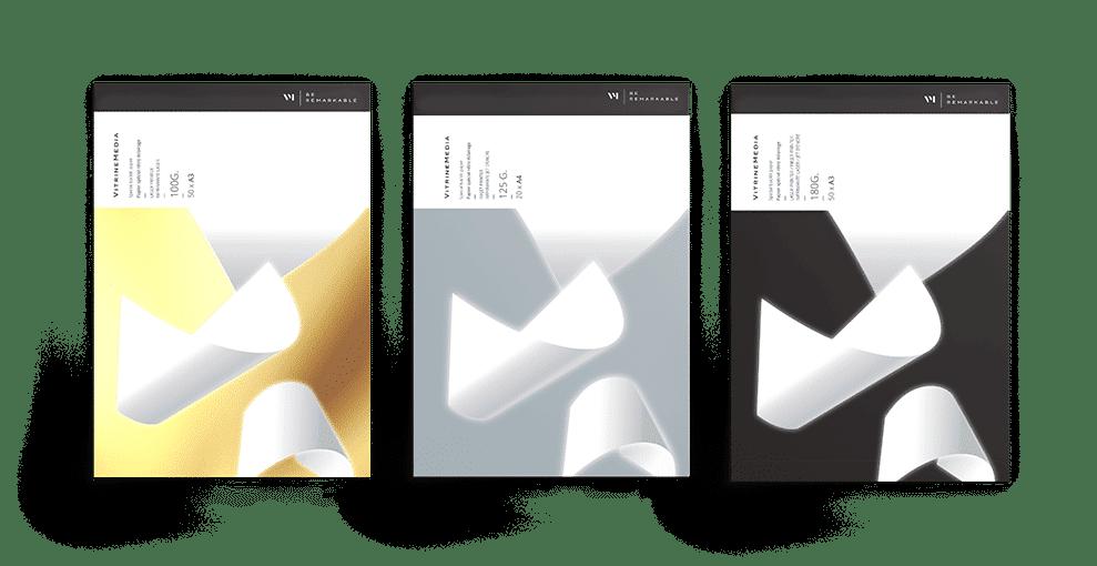 Papel para Painel Backlight VitrineMedia